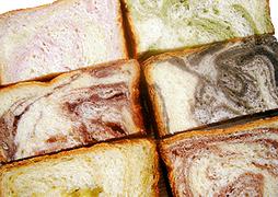 あんマーブル食パン